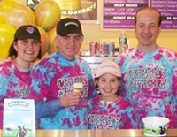Ben & Jerry's Grand Opening Supports PMC Foundation